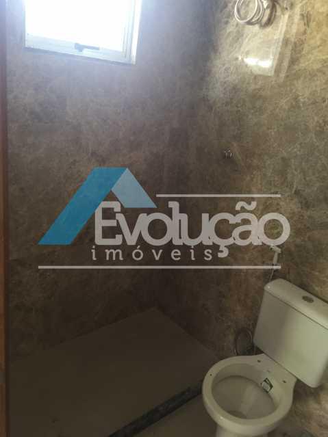 BANHEIRO DA SUÍTE - Casa 2 quartos para alugar Campo Grande, Rio de Janeiro - R$ 1.500 - A0300 - 14