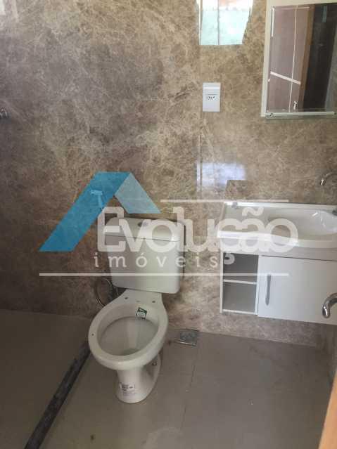 BANHEIRO DA SUÍTE - Casa 2 quartos para alugar Campo Grande, Rio de Janeiro - R$ 1.500 - A0300 - 15