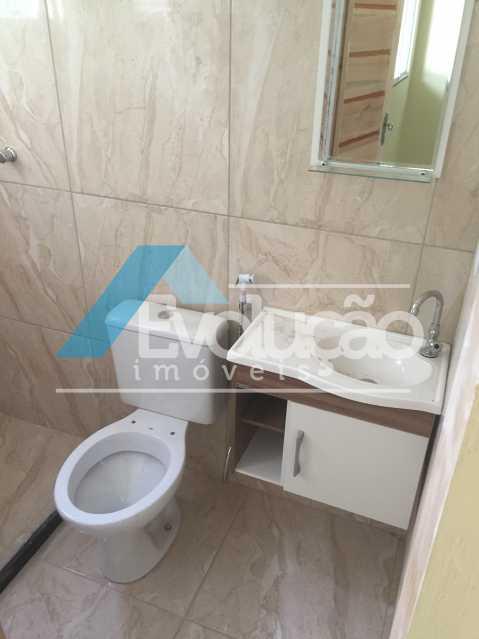 BANHEIRO SOCIAL - Casa 2 quartos para alugar Campo Grande, Rio de Janeiro - R$ 1.500 - A0300 - 16