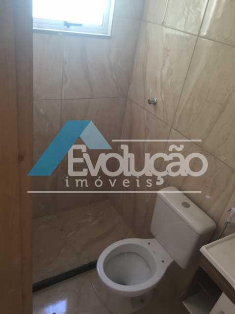 BANHEIRO SOCIAL - Casa 2 quartos para alugar Campo Grande, Rio de Janeiro - R$ 1.500 - A0300 - 17