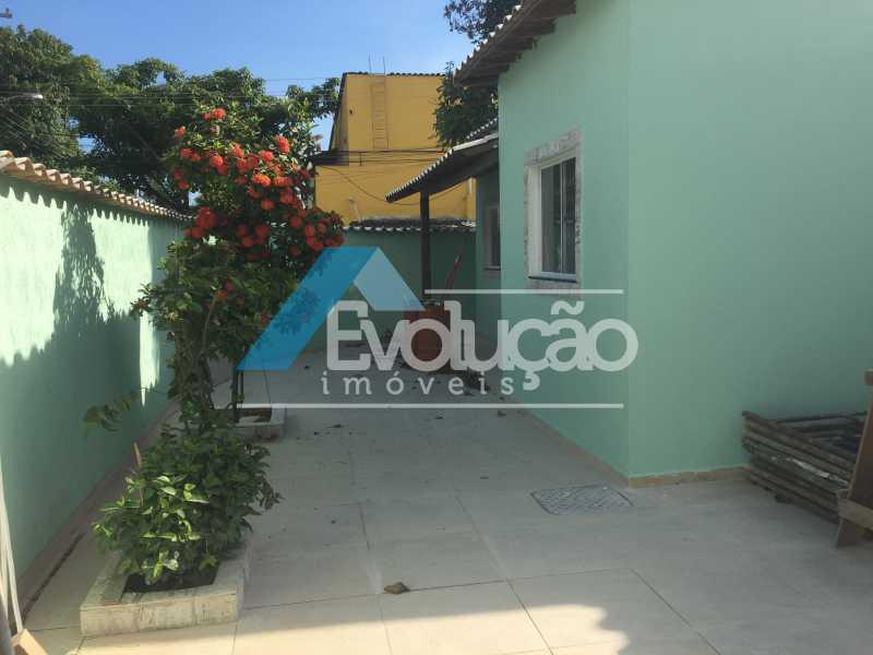 FRENTE CASA - Casa 2 quartos para alugar Campo Grande, Rio de Janeiro - R$ 1.500 - A0300 - 1
