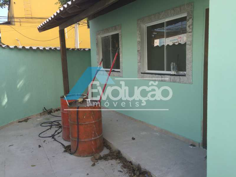 VARANDA DA SALA - Casa 2 quartos para alugar Campo Grande, Rio de Janeiro - R$ 1.500 - A0300 - 21