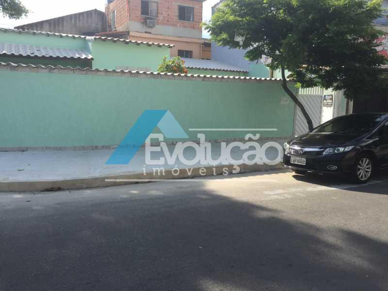 FRENTE CASA - Casa 2 quartos para alugar Campo Grande, Rio de Janeiro - R$ 1.500 - A0300 - 25