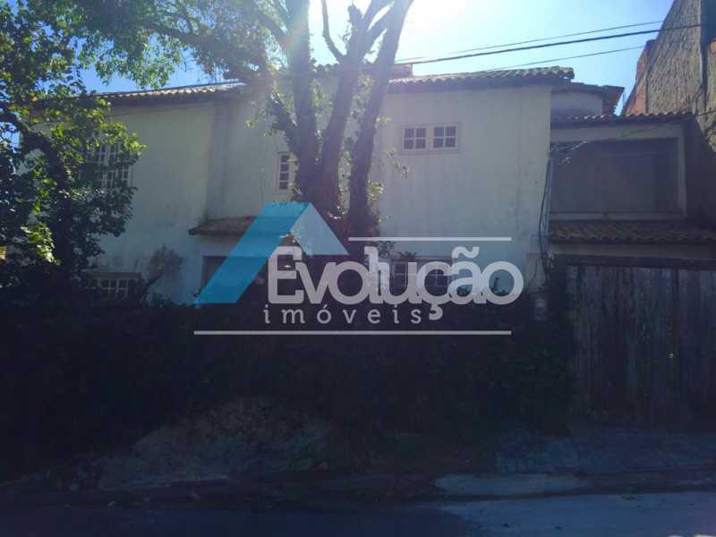 ENTRADA CASA - Casa À Venda - Campo Grande - Rio de Janeiro - RJ - V0247 - 5