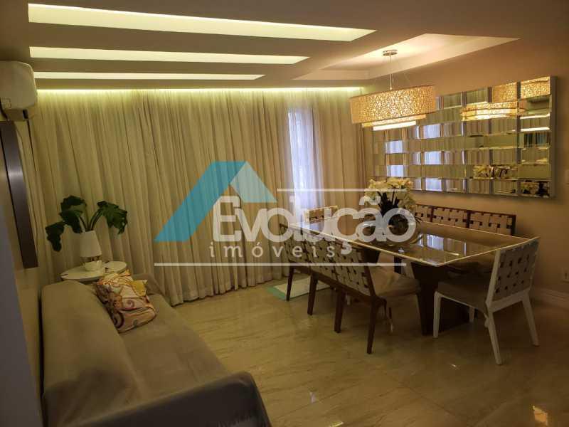 F - Cobertura 3 quartos à venda Campo Grande, Rio de Janeiro - R$ 580.000 - V0252 - 1