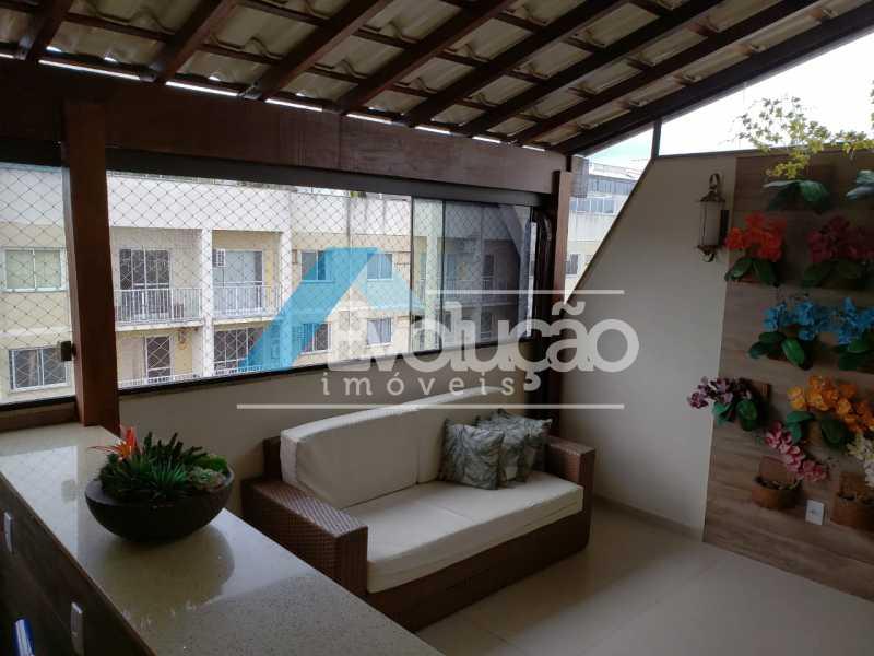F - Cobertura 3 quartos à venda Campo Grande, Rio de Janeiro - R$ 580.000 - V0252 - 27