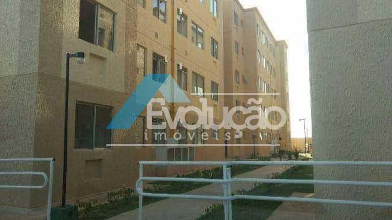 PRÉDIO - Apartamento 1 quarto para venda e aluguel Campo Grande, Rio de Janeiro - R$ 55.000 - A0306 - 3