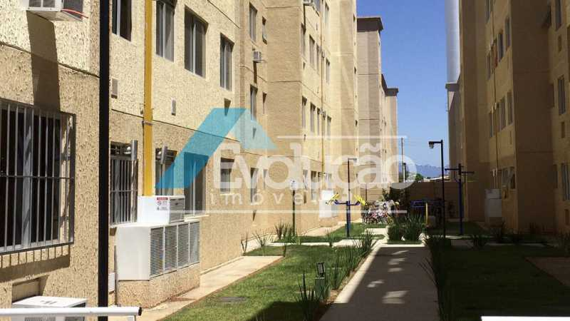 ACESSO AO BLOCO - Apartamento 1 quarto para venda e aluguel Campo Grande, Rio de Janeiro - R$ 55.000 - A0306 - 4