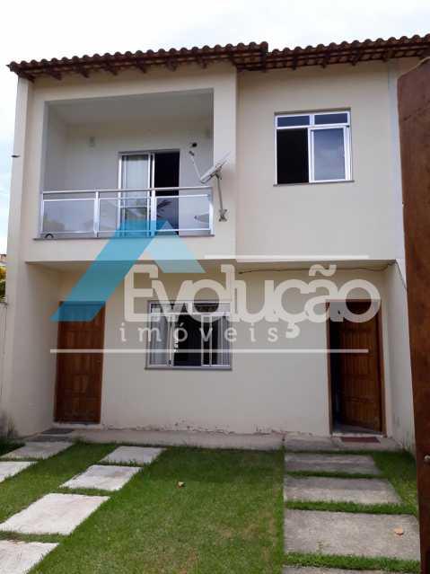 FRENTE CASA - Casa 2 quartos à venda Guaratiba, Rio de Janeiro - R$ 250.000 - V0253 - 1