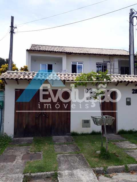 FACHADA - Casa 2 quartos à venda Guaratiba, Rio de Janeiro - R$ 250.000 - V0253 - 3