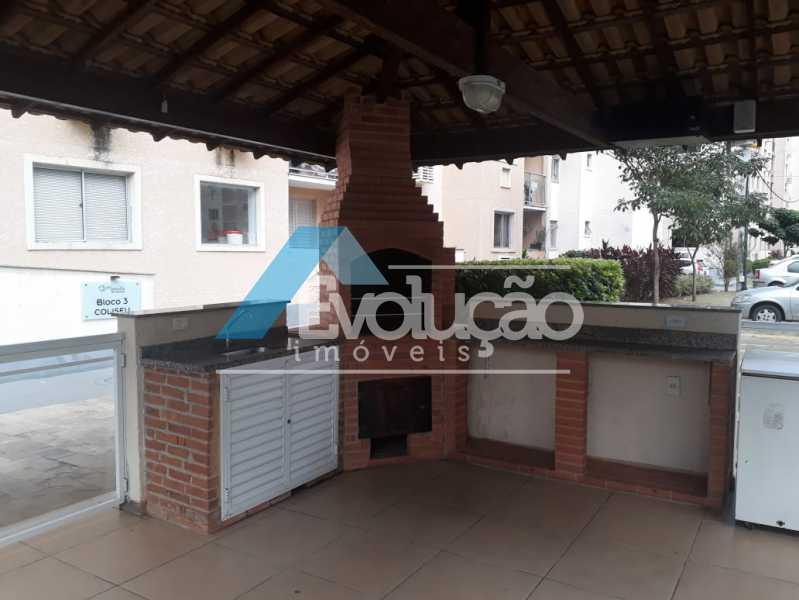 CHURRASQUEIRA - Apartamento 2 quartos para venda e aluguel Taquara, Rio de Janeiro - R$ 230.000 - A0310 - 11