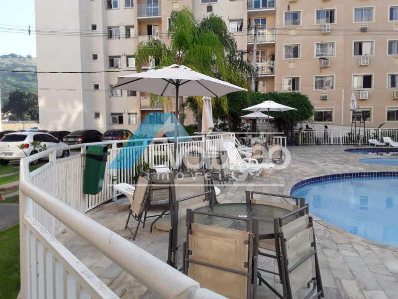 CONDOMÍNIO - Apartamento 2 quartos para venda e aluguel Taquara, Rio de Janeiro - R$ 230.000 - A0310 - 14