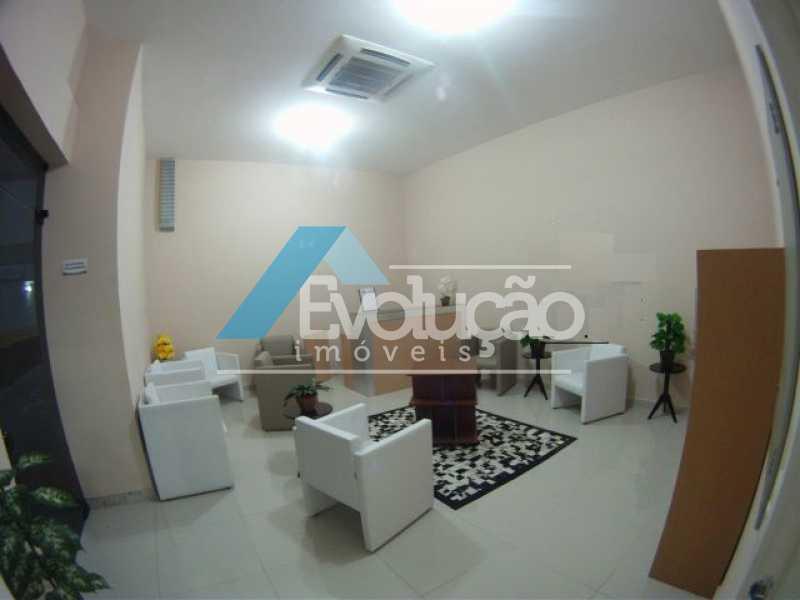RECEPÇÃO PRÉDIO - Sala Comercial 18m² para venda e aluguel Pechincha, Rio de Janeiro - R$ 130.000 - A0159 - 4