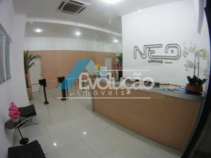 RECEPÇÃO - Sala Comercial 18m² para venda e aluguel Pechincha, Rio de Janeiro - R$ 130.000 - A0159 - 3