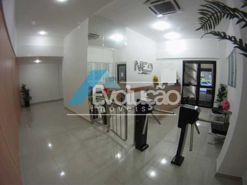 RECEPÇÃO - Sala Comercial 18m² para venda e aluguel Pechincha, Rio de Janeiro - R$ 130.000 - A0159 - 1