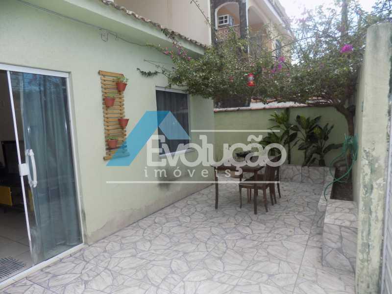FRENTE - Casa 4 quartos à venda Campo Grande, Rio de Janeiro - R$ 260.000 - V0254 - 1