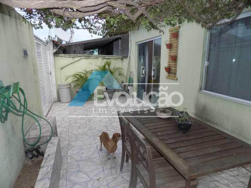 GARAGEM E QUINTAL - Casa 4 quartos à venda Campo Grande, Rio de Janeiro - R$ 260.000 - V0254 - 3