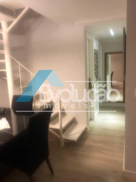 ACESSO A COBERTURA - Cobertura 3 quartos à venda Campo Grande, Rio de Janeiro - R$ 880.000 - V0256 - 12