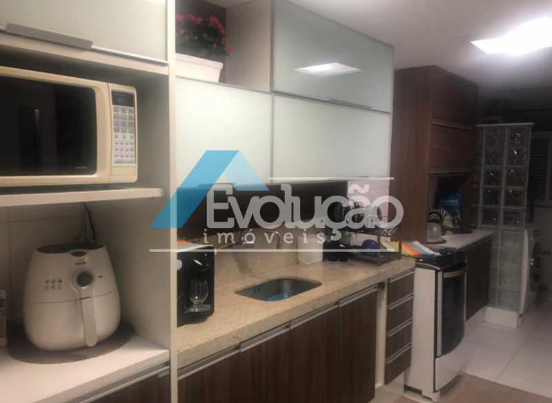 COZINHA - Cobertura 3 quartos à venda Campo Grande, Rio de Janeiro - R$ 880.000 - V0256 - 20