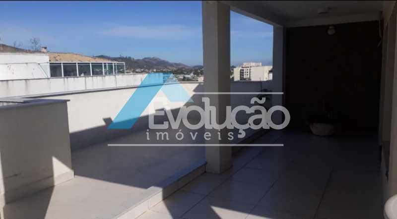 ÁREA EXTERNA DA COBERTURA - Cobertura 3 quartos à venda Campo Grande, Rio de Janeiro - R$ 880.000 - V0256 - 3