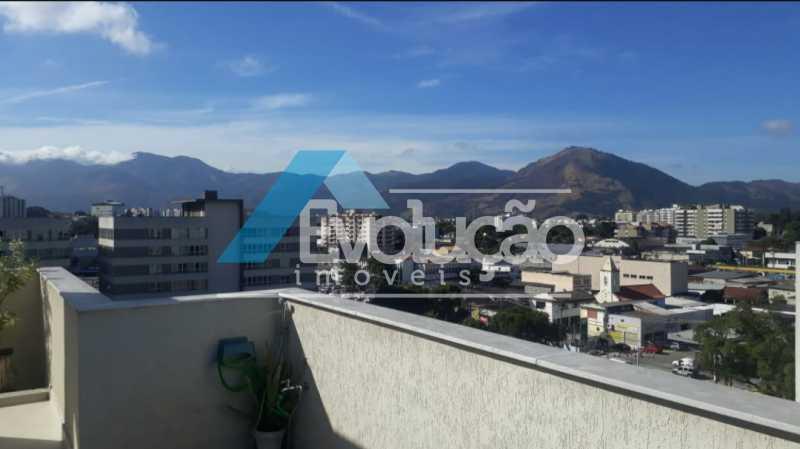 VISTA - Cobertura 3 quartos à venda Campo Grande, Rio de Janeiro - R$ 880.000 - V0256 - 4