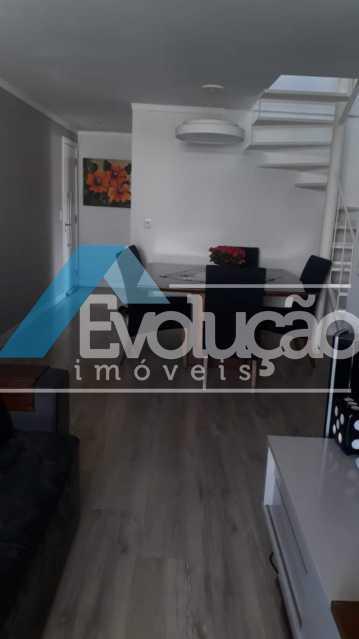 SALA - Cobertura 3 quartos à venda Campo Grande, Rio de Janeiro - R$ 880.000 - V0256 - 21