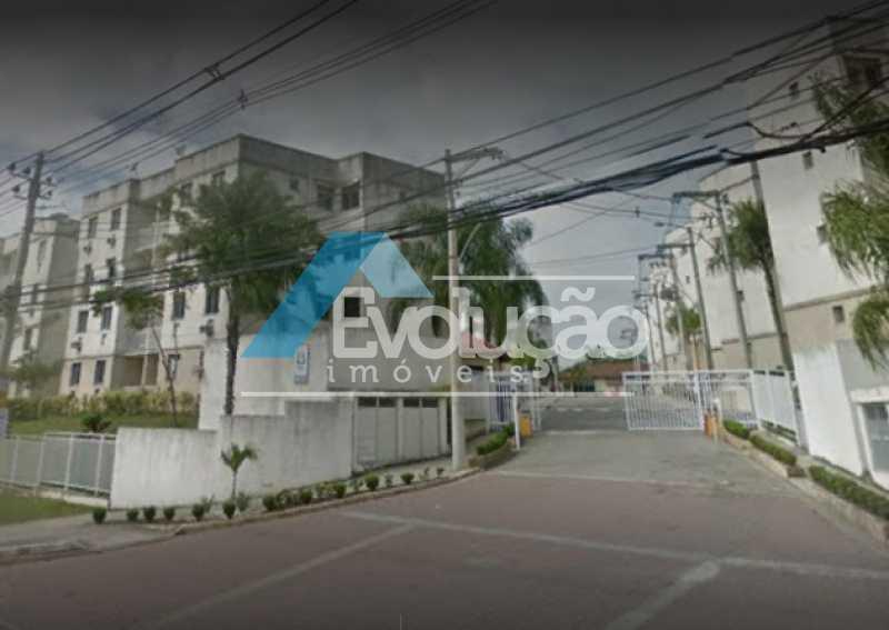 ENTRADA CONDOMÍNIO - Apartamento 2 quartos à venda Campo Grande, Rio de Janeiro - R$ 250.000 - V0259 - 5