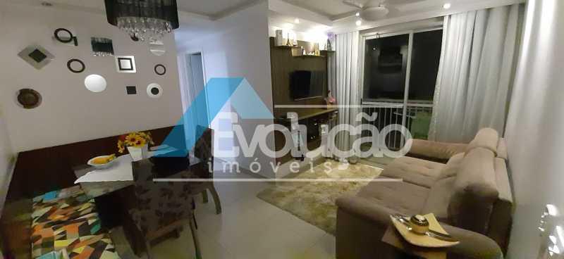 SALA - Apartamento 2 quartos à venda Campo Grande, Rio de Janeiro - R$ 250.000 - V0259 - 6