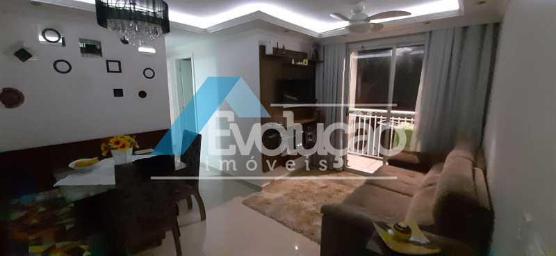 SALA - Apartamento 2 quartos à venda Campo Grande, Rio de Janeiro - R$ 250.000 - V0259 - 7
