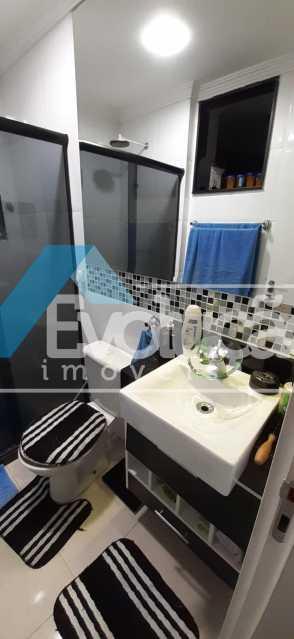 BANHEIRO - Apartamento 2 quartos à venda Campo Grande, Rio de Janeiro - R$ 250.000 - V0259 - 14