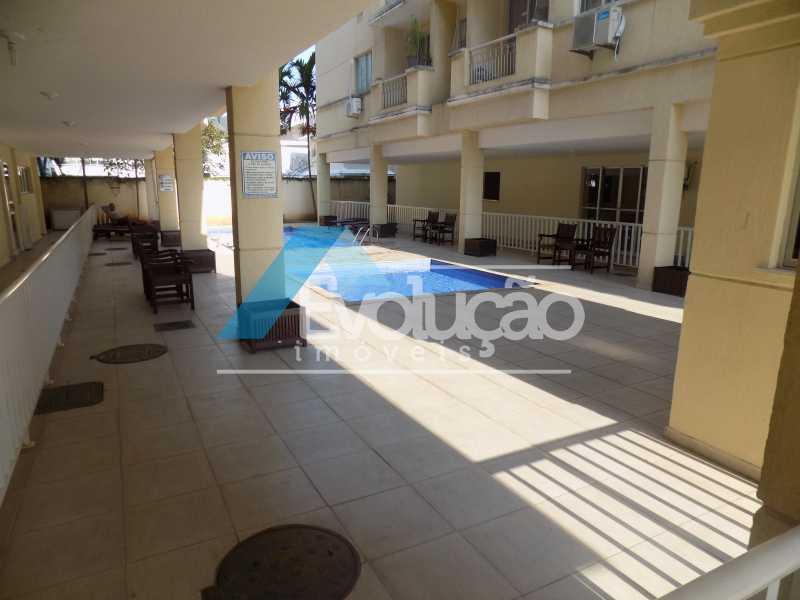 PISCINAS - Apartamento 2 quartos à venda Campo Grande, Rio de Janeiro - R$ 250.000 - V0263 - 1