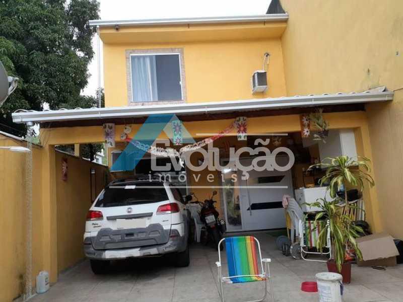 F - Casa em Condomínio 2 quartos à venda Magalhães Bastos, Rio de Janeiro - R$ 390.000 - V0280 - 1