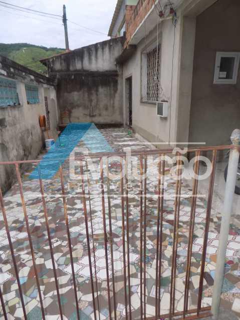 QUINTAL NA FRENTE - CASA LINEAR 4 QUARTOS SÃO JORGE CAMPO GRANDE RJ - V0283 - 21