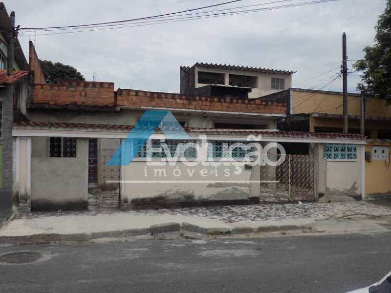 FACHADA - CASA LINEAR 4 QUARTOS SÃO JORGE CAMPO GRANDE RJ - V0283 - 22