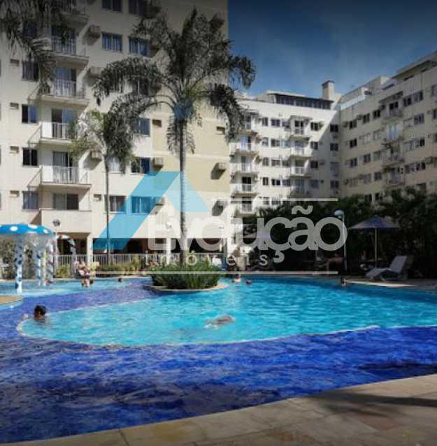 ÁREA LAZER CONDOMINIO - Apartamento 2 quartos à venda Campo Grande, Rio de Janeiro - R$ 187.895 - V0293 - 3
