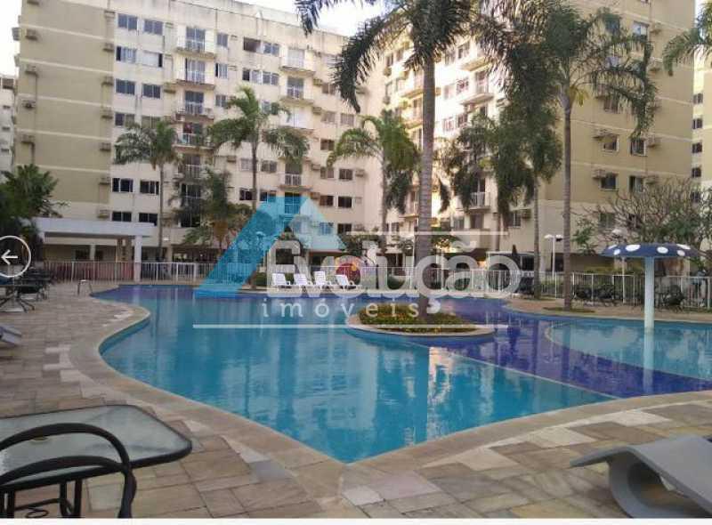 ÁREA LAZER CONDOMINIO - Apartamento 2 quartos à venda Campo Grande, Rio de Janeiro - R$ 187.895 - V0293 - 1