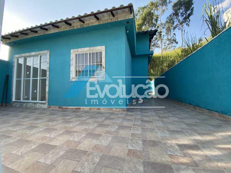 FRENTE CASA - Casa à venda Rua Farol de São Tomé,Campo Grande, Rio de Janeiro - R$ 285.000 - V0299 - 1
