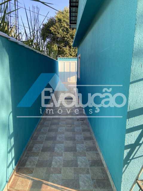 CORREDOR LATERAL - Casa à venda Rua Farol de São Tomé,Campo Grande, Rio de Janeiro - R$ 285.000 - V0299 - 7