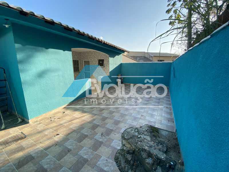 QUINTAL FUNDOS - Casa à venda Rua Farol de São Tomé,Campo Grande, Rio de Janeiro - R$ 285.000 - V0299 - 8