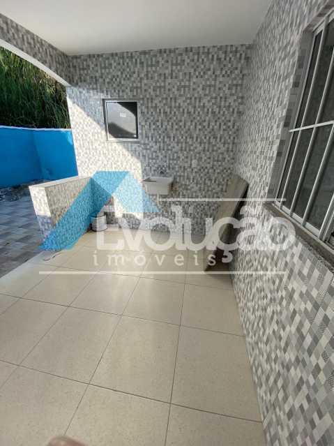 ÁREA DE SERVIÇO - Casa à venda Rua Farol de São Tomé,Campo Grande, Rio de Janeiro - R$ 285.000 - V0299 - 11