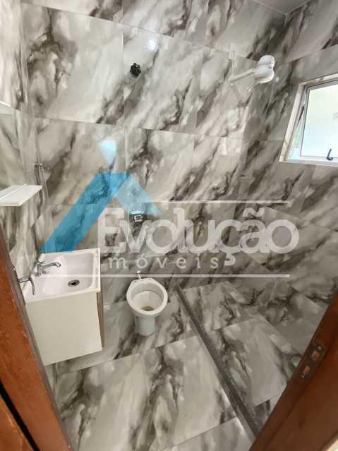 BANHEIRO SOCIAL - Casa à venda Rua Farol de São Tomé,Campo Grande, Rio de Janeiro - R$ 285.000 - V0299 - 12