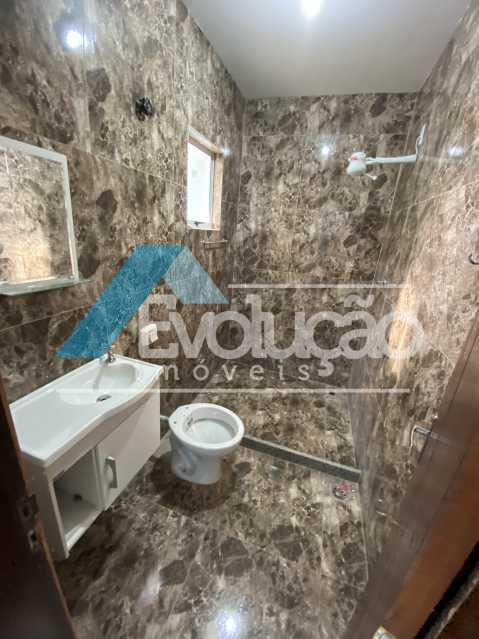 BANHEIRO DA SUÍTE - Casa à venda Rua Farol de São Tomé,Campo Grande, Rio de Janeiro - R$ 285.000 - V0299 - 23