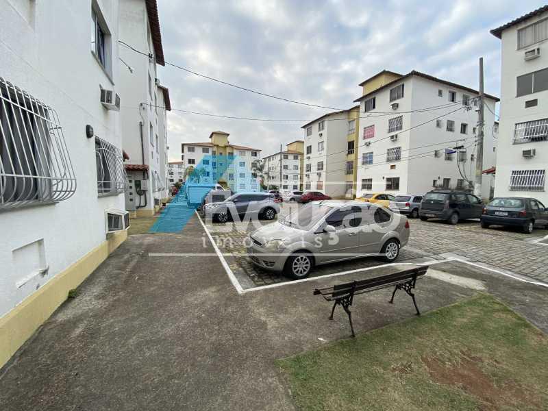 CONDOMÍNIO - Apartamento 2 quartos à venda Campo Grande, Rio de Janeiro - R$ 127.000 - V0305 - 11