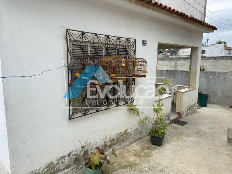 FRENTE QUINTAL - Casa 2 quartos à venda Guaratiba, Rio de Janeiro - R$ 170.000 - V0309 - 3