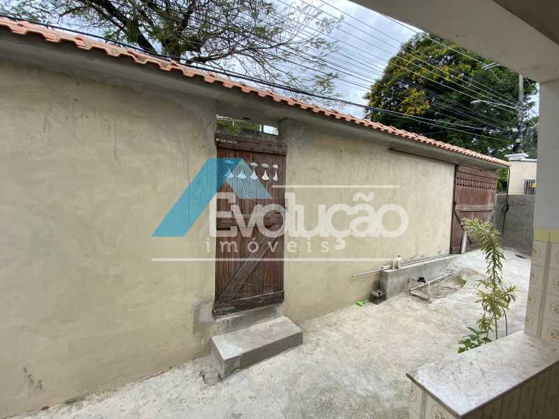 FRENTE QUINTAL - Casa 2 quartos à venda Guaratiba, Rio de Janeiro - R$ 170.000 - V0309 - 5