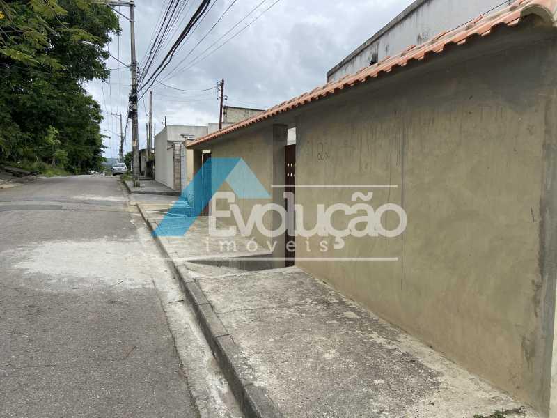 FACHADA E RUA - Casa 2 quartos à venda Guaratiba, Rio de Janeiro - R$ 170.000 - V0309 - 7