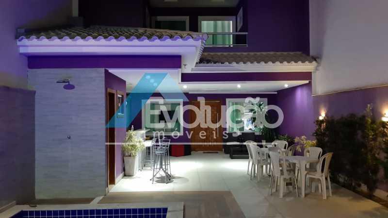 AREA GOURMET - Casa em Condomínio 5 quartos à venda Campo Grande, Rio de Janeiro - R$ 1.325.000 - V0312 - 3