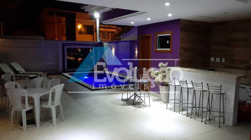 PISCINA - Casa em Condomínio 5 quartos à venda Campo Grande, Rio de Janeiro - R$ 1.325.000 - V0312 - 4