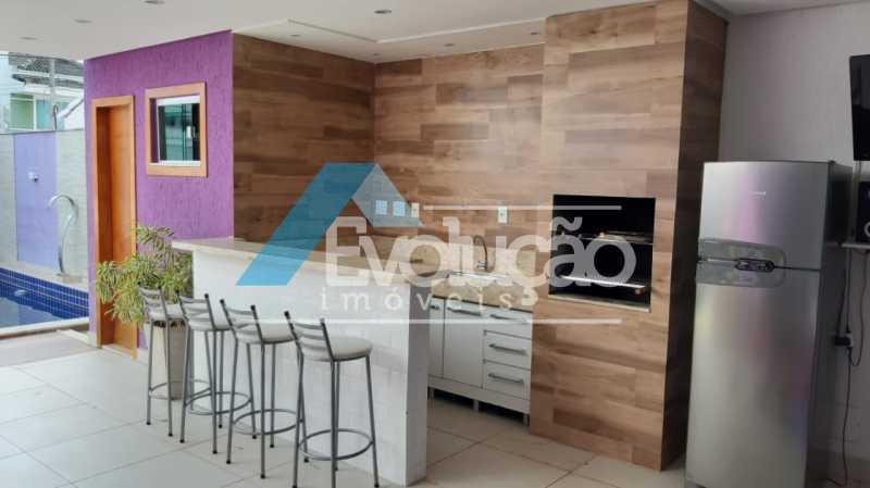 CHURRASQUEIRA - Casa em Condomínio 5 quartos à venda Campo Grande, Rio de Janeiro - R$ 1.325.000 - V0312 - 5