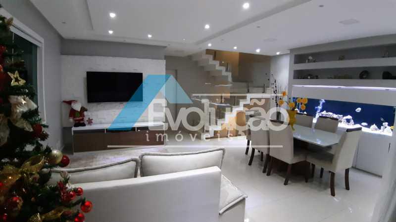 SALA - Casa em Condomínio 5 quartos à venda Campo Grande, Rio de Janeiro - R$ 1.325.000 - V0312 - 8